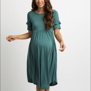 Nib Pink Blush Maternity Dress